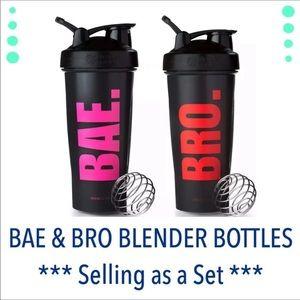 NEW Blender Bottles SET Special BAE BRO
